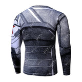 Winter Soldier Workout Compression Long Sleeves for Men 4