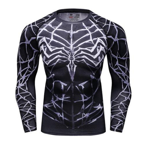 Venom Workout Compression Long Sleeves for Men 01