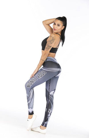 Batman Cosplay Training Compression Leggings for Women Fitness 3 - Cosplay Fitness | KiTak