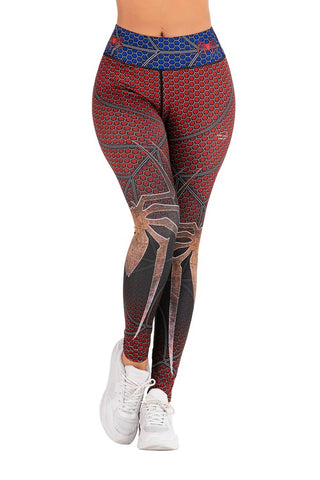Spider-Man Workout Compression Leggings for Women 1