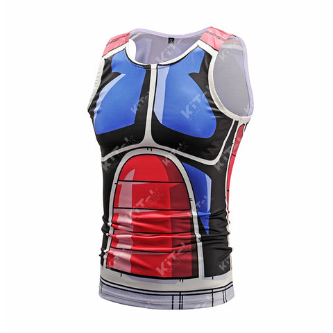 Anime Training Rouge Costume Workout Compression Tank Tops for Men