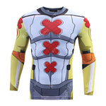 WarGreymon Workout Compression Long Sleeves