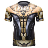 Thanos Full Gears Workout Compression T Shirts for Men 2(2019 Endgame)