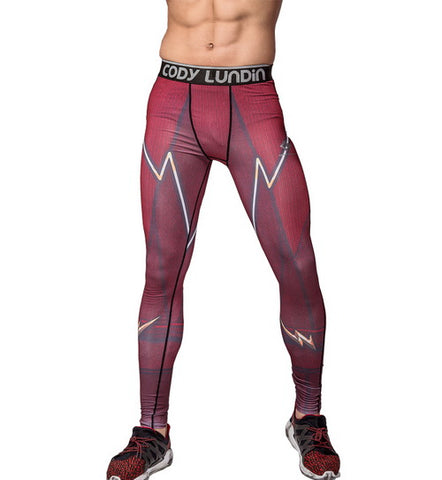 The Flash Workout Compression Leggings for Men 1