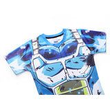Vegeta SSB Limit Breaker Cosplay Training Compression T-Shirts for Men Fitness