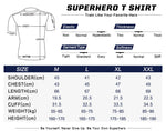 Spider-man Cosplay Training Compresson T-Shirts for Men Fitness 5