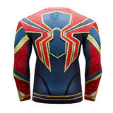 Spider-Man Cosplay Training Compression Long Sleeves for Men Fitness 1