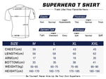 Superman Workout Compression T Shirts for Women(2013 MAN OF STEEL)