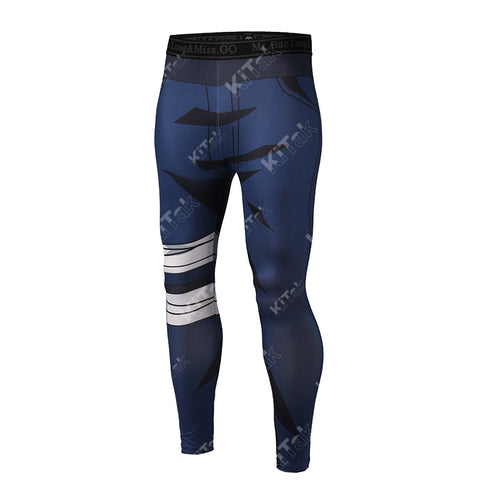 Kakashi Workout Compression Leggings for Men
