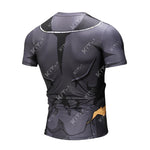 ONYX Broly Black Workout Compression T Shirts