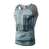 Kakashi Workout Compression Tank Tops for Men