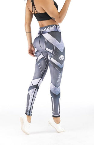 Black Panther Cosplay Training Compression Leggings for Women Fitness - Cosplay Fitness | KiTak