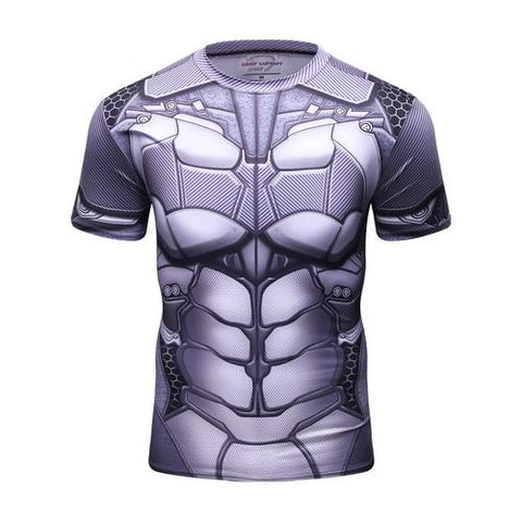 Batman Workout Compression T Shirts for Men 9