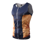 Naruto Workout Compression Tank Tops