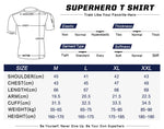 Captain America Cosplay Training Compression T-Shirts for Men Fitness 01