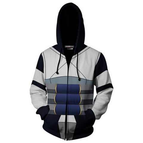 Tenya Iida Training Warm Up Full Zip Hoodies - Unisex