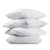 Set of 4 Medium Cotton Pillows