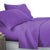 King Size 4 Piece Micro Fibre Sheet Set - Purple