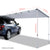Car Shade Awning 1.4 x 2M - Grey