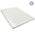 King Size 8cm Memory Foam Mattress Topper - White