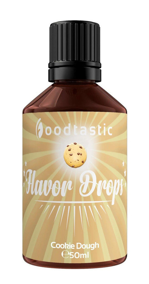 Foodtastic Flavor Drops 50ml Cookie Dough - Foodtastic Shop