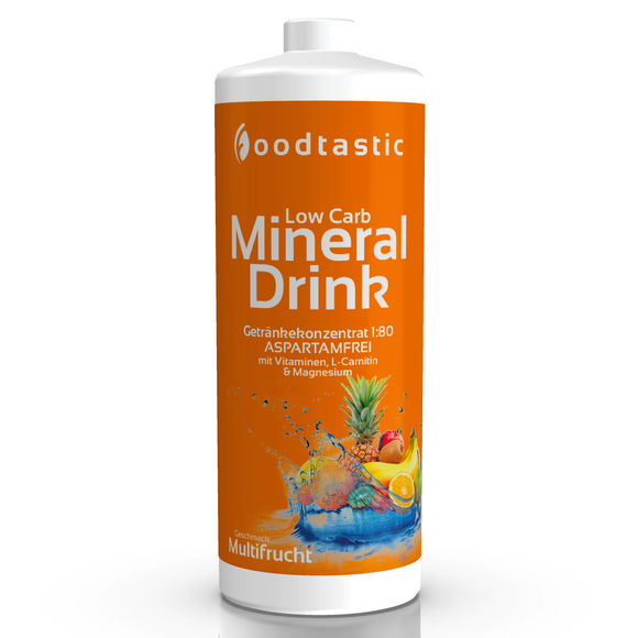 Low Carb Mineral Drink 1000ml Multifrucht