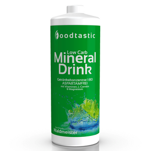 Low Carb Mineral Drink 1000ml Waldmeister