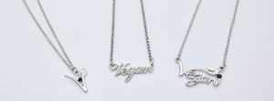 vegan necklaces vegan gifts vegan presents