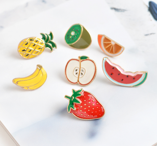 Copy of Tutty Fruity 7 Piece Brooch Set