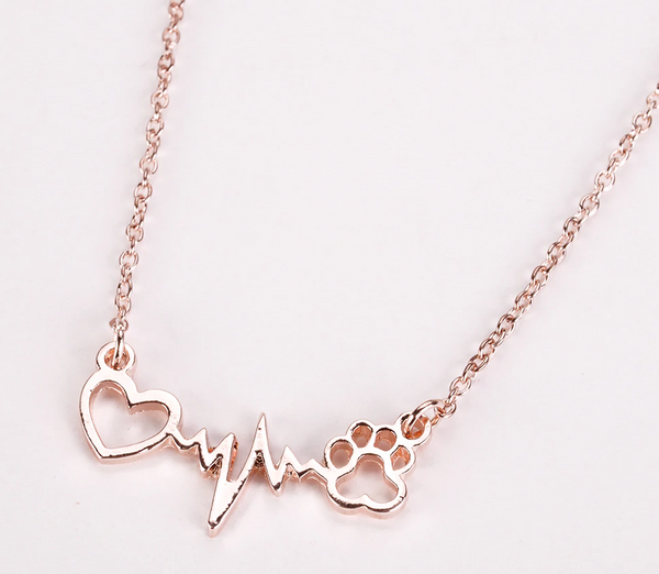 Vegan From The Heart Necklace