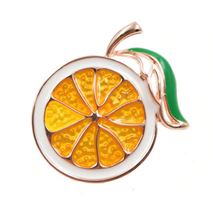Lemon Brooch