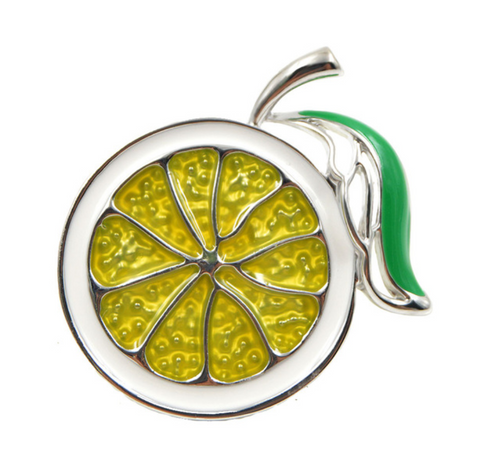 Lime Brooch