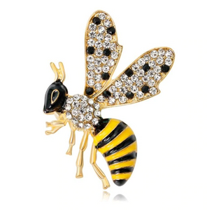 Wasp Brooch