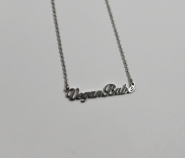 Vegan Babe Necklace