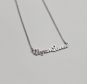 Vegan Queen Necklace