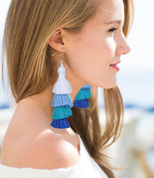 Tamzin Tassel Earrings
