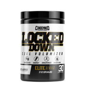 Condemned Labz Locked Down is a premium-grade stimulant free pre workout and hydration supplement that combines the power of creatine monohydrate and HydroMax glycerol into a single supplement for superior hydration and performance.