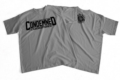 Condemned Labz Original Logo T-Shirt Grey Condemned Labz M