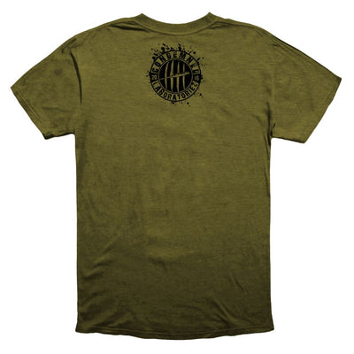 Condemned Labz Original Logo T-Shirt Military Green APPAREL Condemned Labz