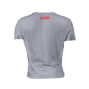 Condemned Labz Shirt - Gray (Red Print) Condemned Labz
