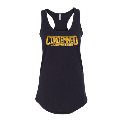 Condemned Labz Tank - Black Condemned Labz S