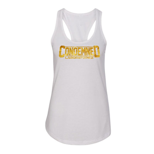 Condemned Labz Tank - White Condemned Labz S