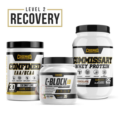 Level 2 Recovery Condemned Labz Coconut Lime Chocolate Fruit Punch