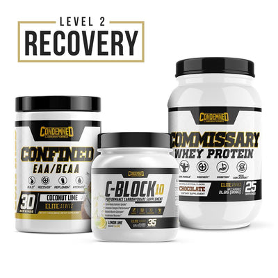 Level 2 Recovery Condemned Labz Coconut Lime Chocolate Lemon Lime
