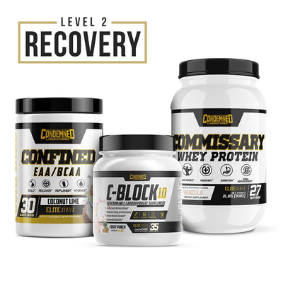Level 2 Recovery Condemned Labz Coconut Lime Vanilla Fruit Punch