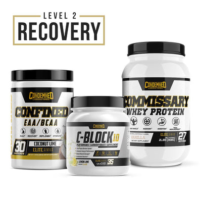 Level 2 Recovery Condemned Labz Coconut Lime Vanilla Lemon Lime