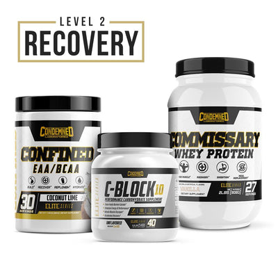 Level 2 Recovery Condemned Labz Coconut Lime Vanilla Unflavored