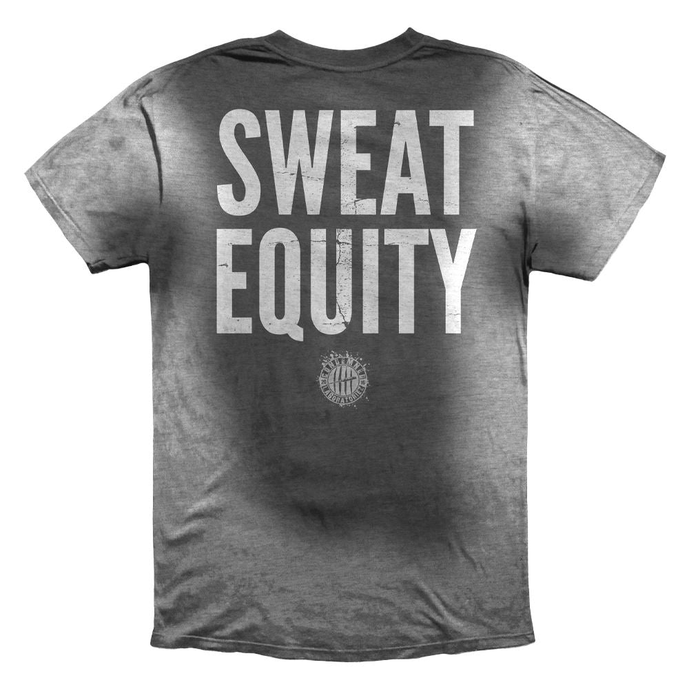 SWEAT EQUITY T-SHIRT APPAREL Condemned Labz SMALL