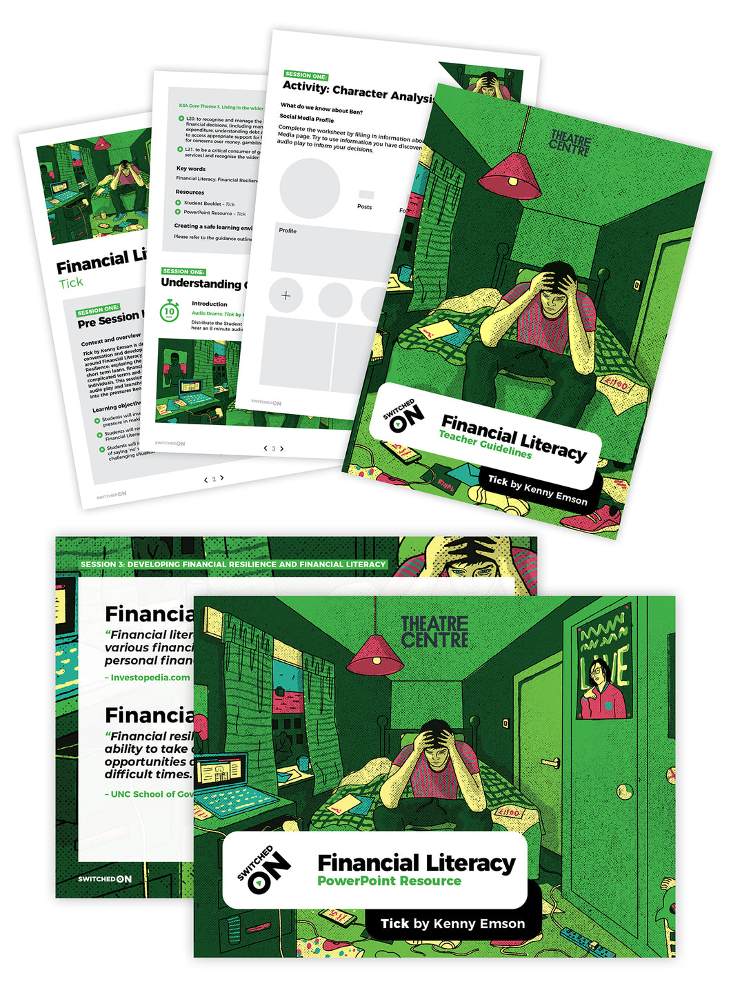 Financial Literacy – Tick by Kenny Emson