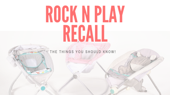 New Safety Recall on the Fischer-Price Rock 'n Play Sleeper